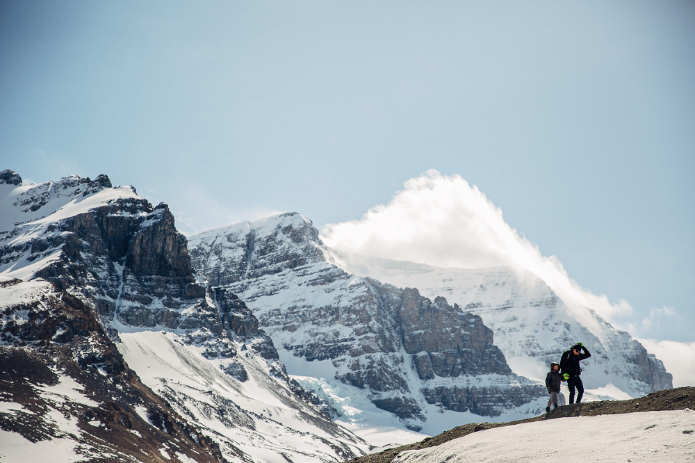 Icefields Parkway, Mountains