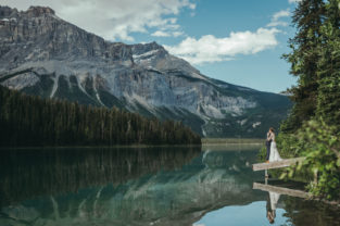 Emerald Lake Wedding, Emerald Lake Wedding Photography, Emerald Lake Elopement, Destination Wedding Photography, Calgary Wedding Photographer