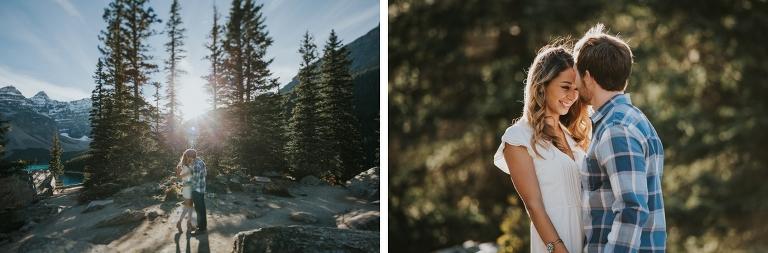 Moraine Lake Engagement Session, Moraine Lake Wedding, Moraine Lake Wedding Photography, Banff Wedding Photography, Banff Wedding Photographer