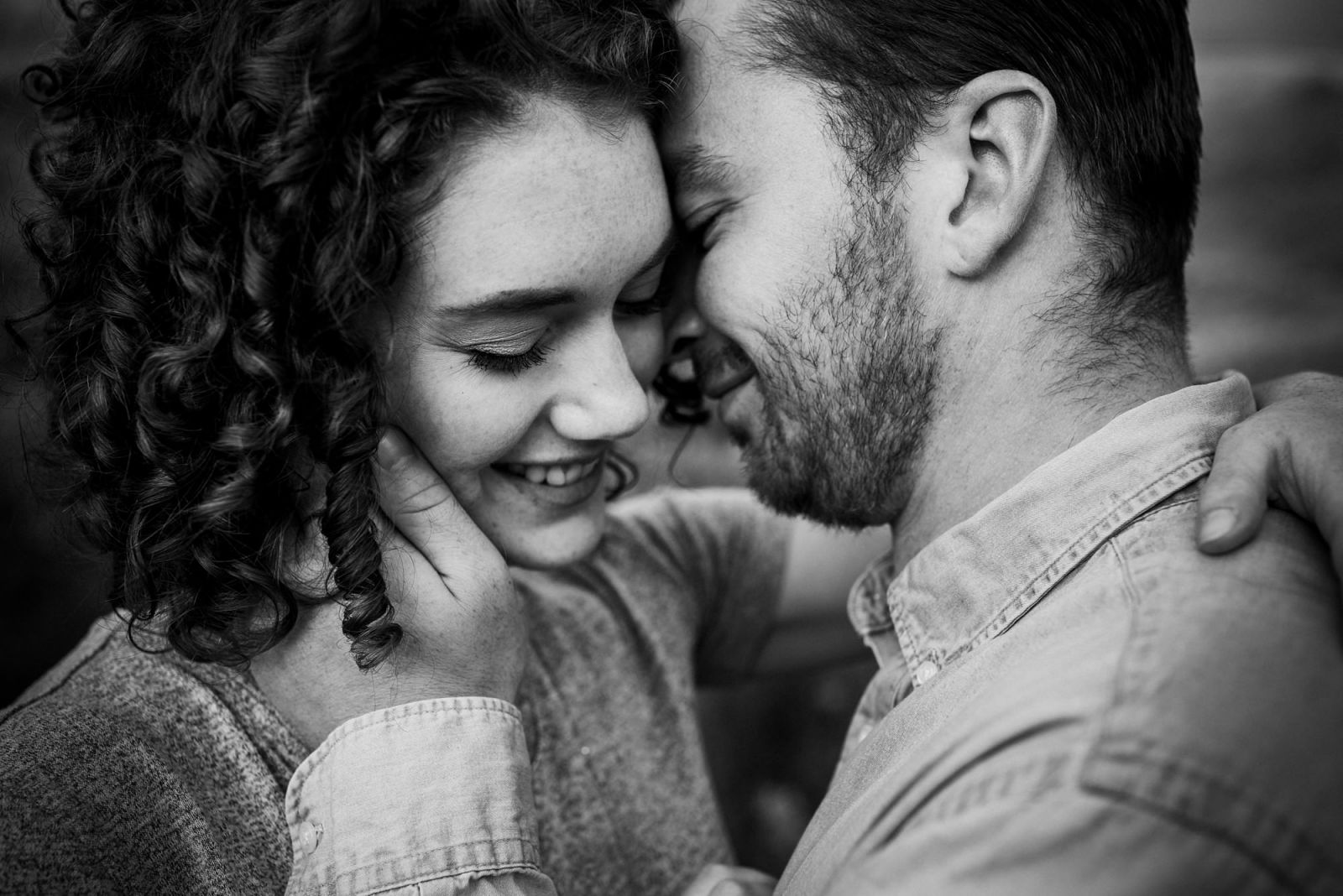 professional engagement photographer captures close up candid photos