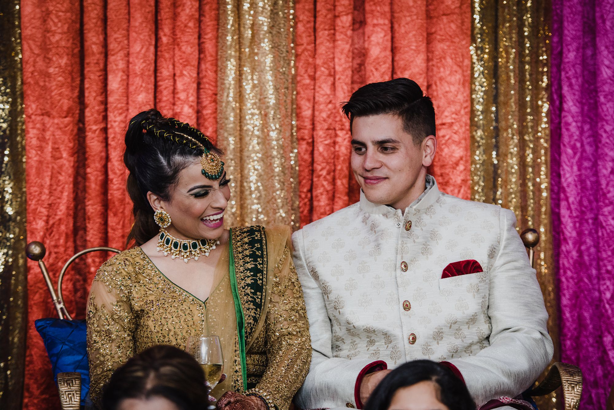 Persian Wedding ceremony captured by calgary indian wedding photographer