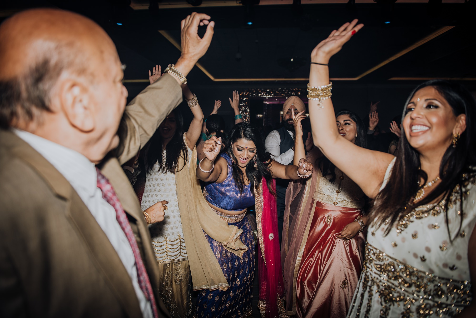 indian wedding at magnolia banquet hall in calgary
