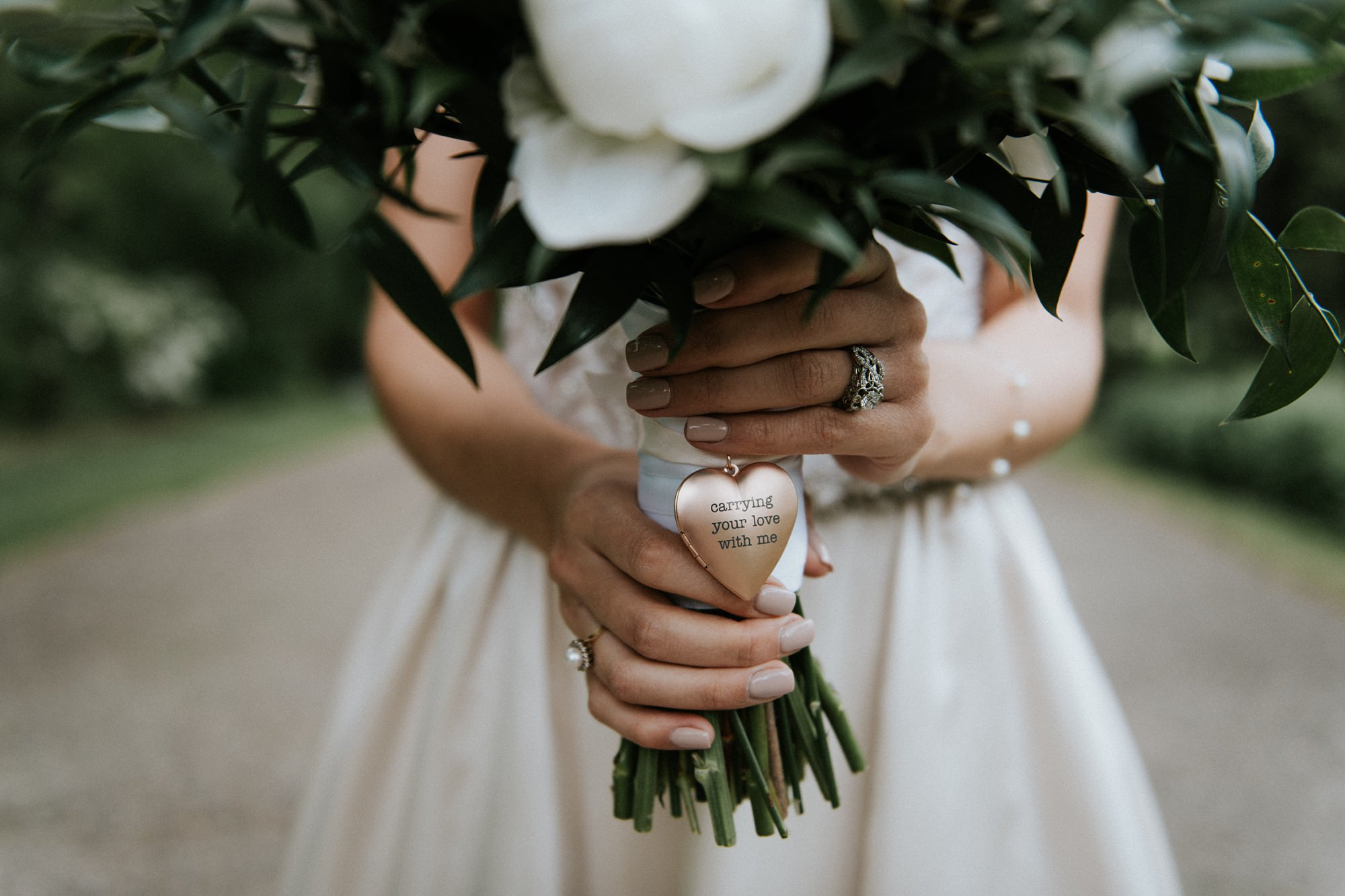 bridal portrait of elegant bride in riley park during plaza theatre wedding in Kensington