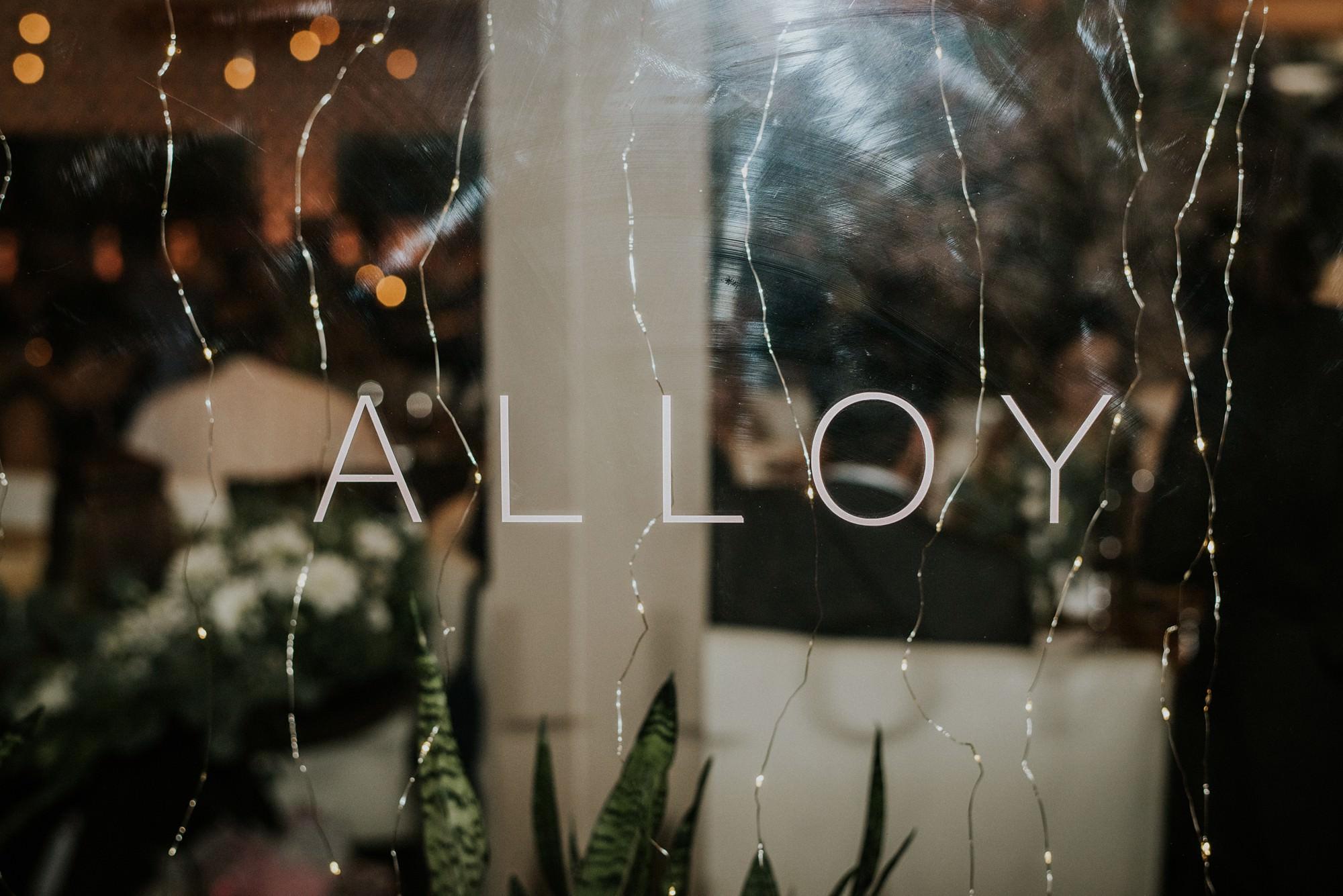 alloy restaurant events